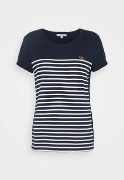 TOM TAILOR DENIM - T-Shirt print - real navy blue