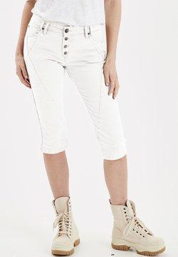 PULZ - PZROSITA  - Jeansshort - bright white