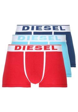 Diesel - DAMIEN 3 PACK - Panties - hellblau/blau/rot