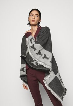 Patrizia Pepe - Cape - black\grey