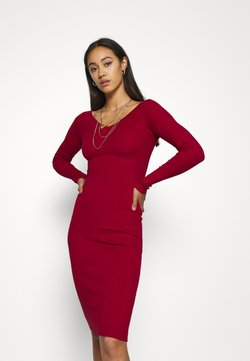 Even&Odd - JUMPER DRESS - Etuikleid - red