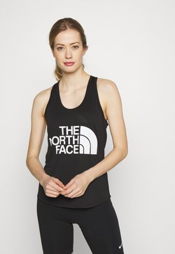 The North Face - WOMENS GRAPHIC PLAY HARD TANK - Funktionsshirt - black/white