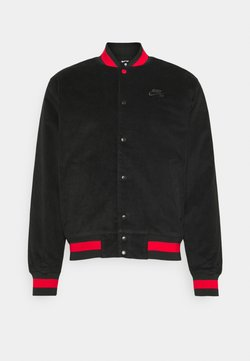 Nike SB - SKATE UNISEX - Blouson Bomber - black/university red