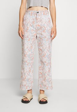 Obey Clothing - CRUSH PANT - Relaxed fit -farkut - blush/multi
