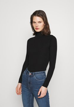 Marks & Spencer London - NEW ROLL - Strickpullover - black