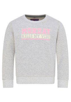 myMo KIDS - Sweater - grau melange