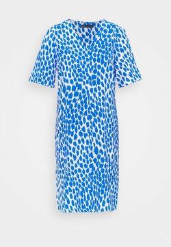 Marks & Spencer London - ANIMAL SHIFT DRESS - Sukienka letnia - blue