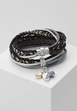 sweet deluxe - ADEOLA - Bracelet - schwarz/beige