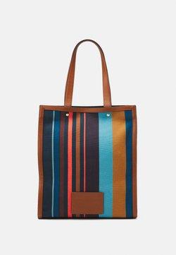 Paul Smith - TOTE STRIPE UNISEX - Shopping bag - multi-coloured