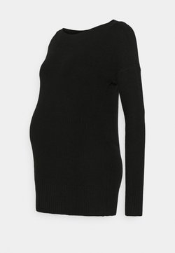 GAP Maternity - BROOKLYN BOAT - Stickad tröja - true black