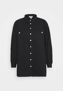 Topshop - CASUAL - Button-down blouse - black