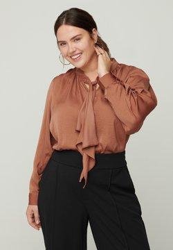 Zizzi - Bluse - brown