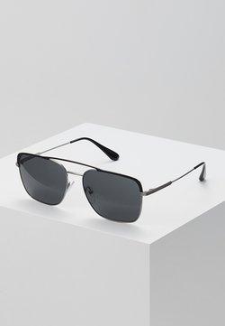 Prada - Lunettes de soleil - black/gunmetal/grey