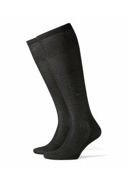 Burlington - CARDIFF - Chaussettes hautes - black