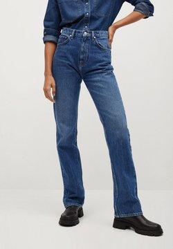 Mango - VINTAGE - Flared Jeans - dunkelblau