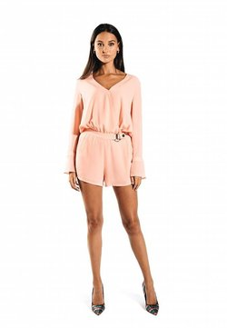 Jacky Luxury - MET CEINTUUR - Jumpsuit - peach