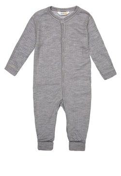 Joha - Pyjama - hellgrau meliert