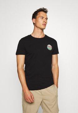 TOM TAILOR DENIM - T-shirt imprimé - black