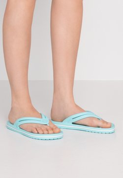 Crocs - CROCBAND - Teenslippers - ice blue