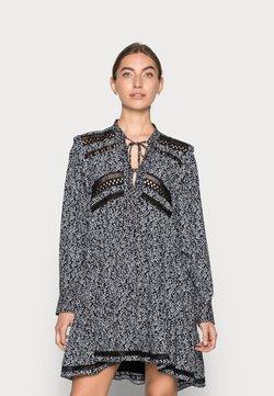 Replay - DRESS - Korte jurk - black/white