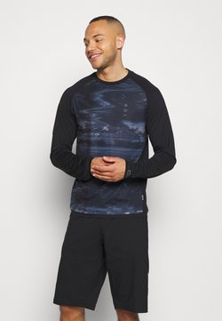 ION - TEE TRAZE - Langarmshirt - black