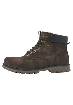 British Knights - SNEAKER SECCO - Ankle Boot - dk brown/black