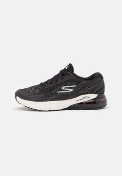 Skechers Performance - GO RUN AIR - Zapatillas de running neutras - black/white