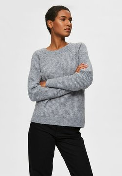 Selected Femme - Sweatshirt - quicksilver