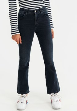 WE Fashion - Bootcut jeans - dark blue