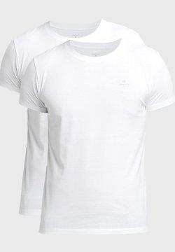 GANT - 2 PACK - Koszulka do spania - white