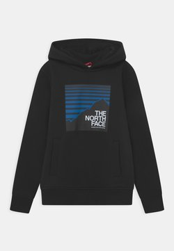 The North Face - BOX HOODIE UNISEX - Bluza - black/hero blue