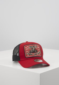 New Era - HOT ROD TRUCKER PACK - Lippalakki - red/black