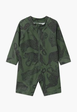 Cotton On - CAMERON LONG SLEEVE  - Uimapuku - swag green