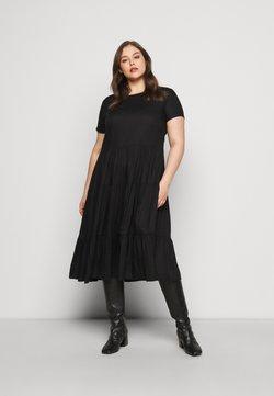 ONLY Carmakoma - CARFABULOUS DRESS  - Freizeitkleid - black
