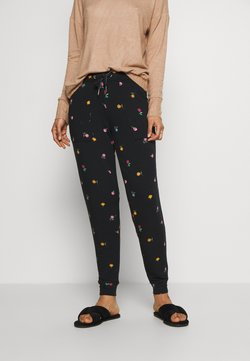 Marks & Spencer London - FLEXI PANT - Nachtwäsche Hose - black