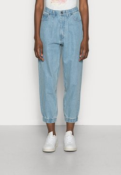 Freequent - BAGGER ANKLE - Relaxed fit jeans - light blue denim