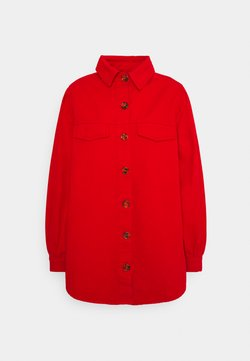 Missguided - BALLOON SLEEVE  - Overhemdblouse - red