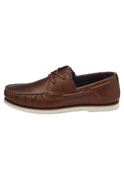 Next - BOAT SHOE - Buty żeglarskie - brown