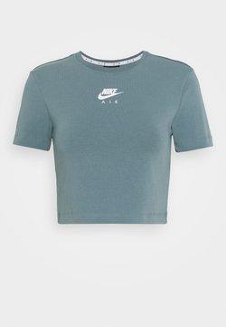 Nike Sportswear - AIR CROP - T-shirt imprimé - ozone blue