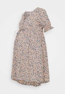 Pieces Maternity - PCMCINDY DRESS  - Vestito estivo - blue
