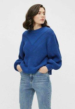 Object - Strikpullover /Striktrøjer - mazarine blue