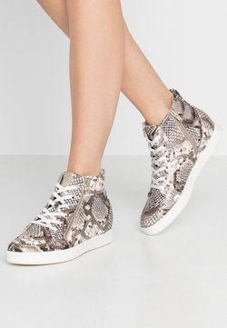 Call it Spring - ULEAVIA - Höga sneakers - champagne