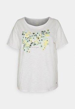 MY TRUE ME TOM TAILOR - FRONT ARTWORK - T-Shirt print - whisper white