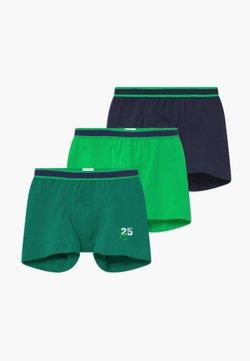 Schiesser - KIDS 3 PACK - Shorty - green/dark blue