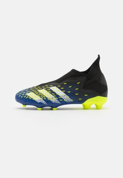adidas Performance - PREDATOR FREAK .3 LL FG UNISEX - Chaussures de foot à crampons - core black/footwear white/solar yellow