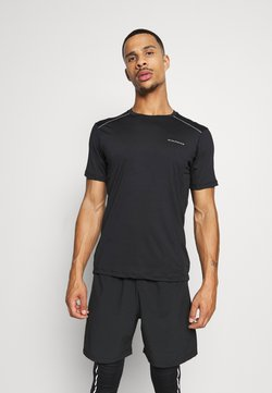Endurance - SHAMS TEE - Camiseta estampada - black
