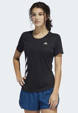 adidas Performance - RUN IT - Camiseta estampada - black