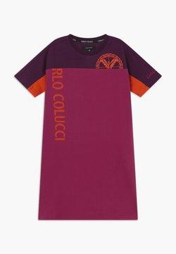 Carlo Colucci - Jerseykleid - pink/lila/orange