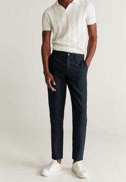 Mango - OYSTER - Pantalones - marineblau