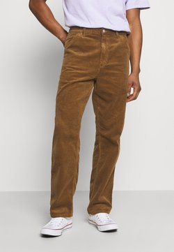 Carhartt WIP - SINGLE KNEE PANT URBANA - Pantalones - hamilton brown rinsed